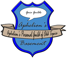 Guild Badge Aphelion's Basement - Gaia Guild by dA-ShadowRanger-dA