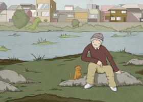 Kafka on the Shore - Nakata by AuScrivens