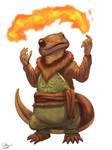 Pyromancer Salamander