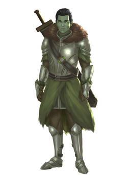 Commission - Half Orc