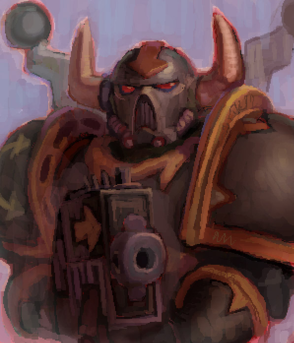 Black Legionaire by megalaros