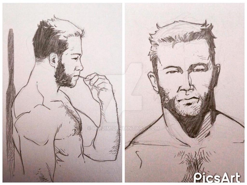 Wolverine sketch by Hiroim