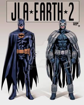 JLA EARTH 2 Batman Owlman