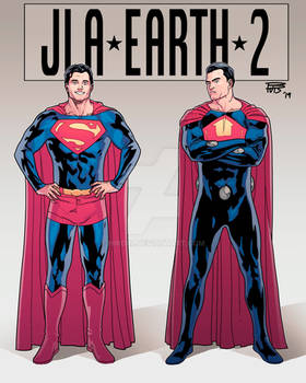 JLA EARTH 2 Superman Ultraman