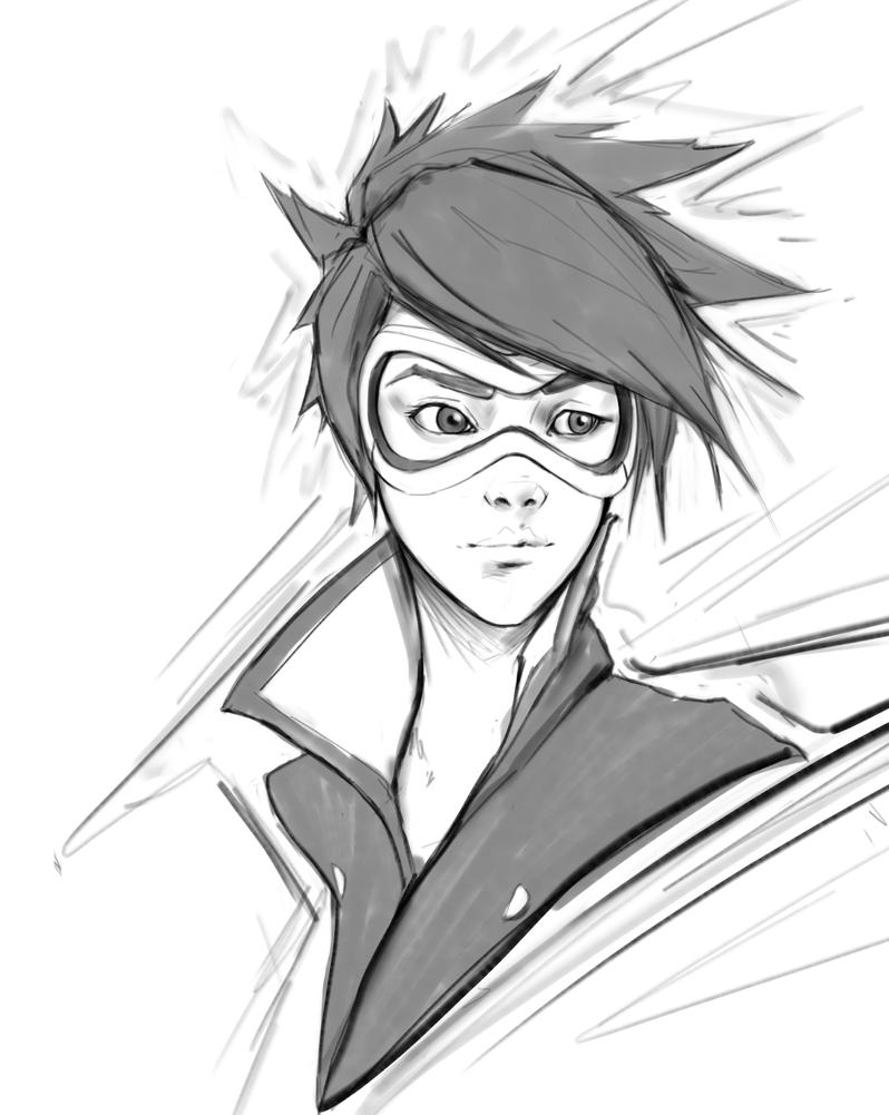 Tracer Sketch by LGralh