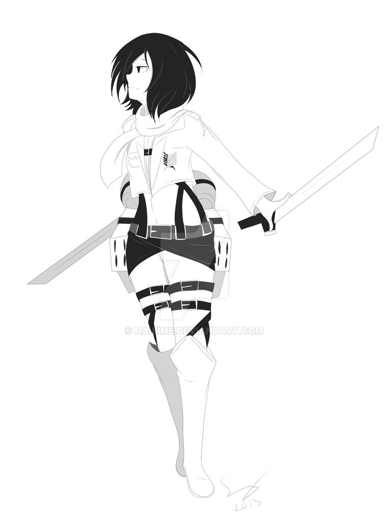 Mikasa by Hajiime