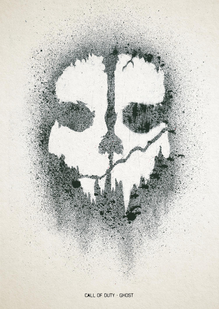 Call Of Duty Ghosts Skull Stencil | terijoki