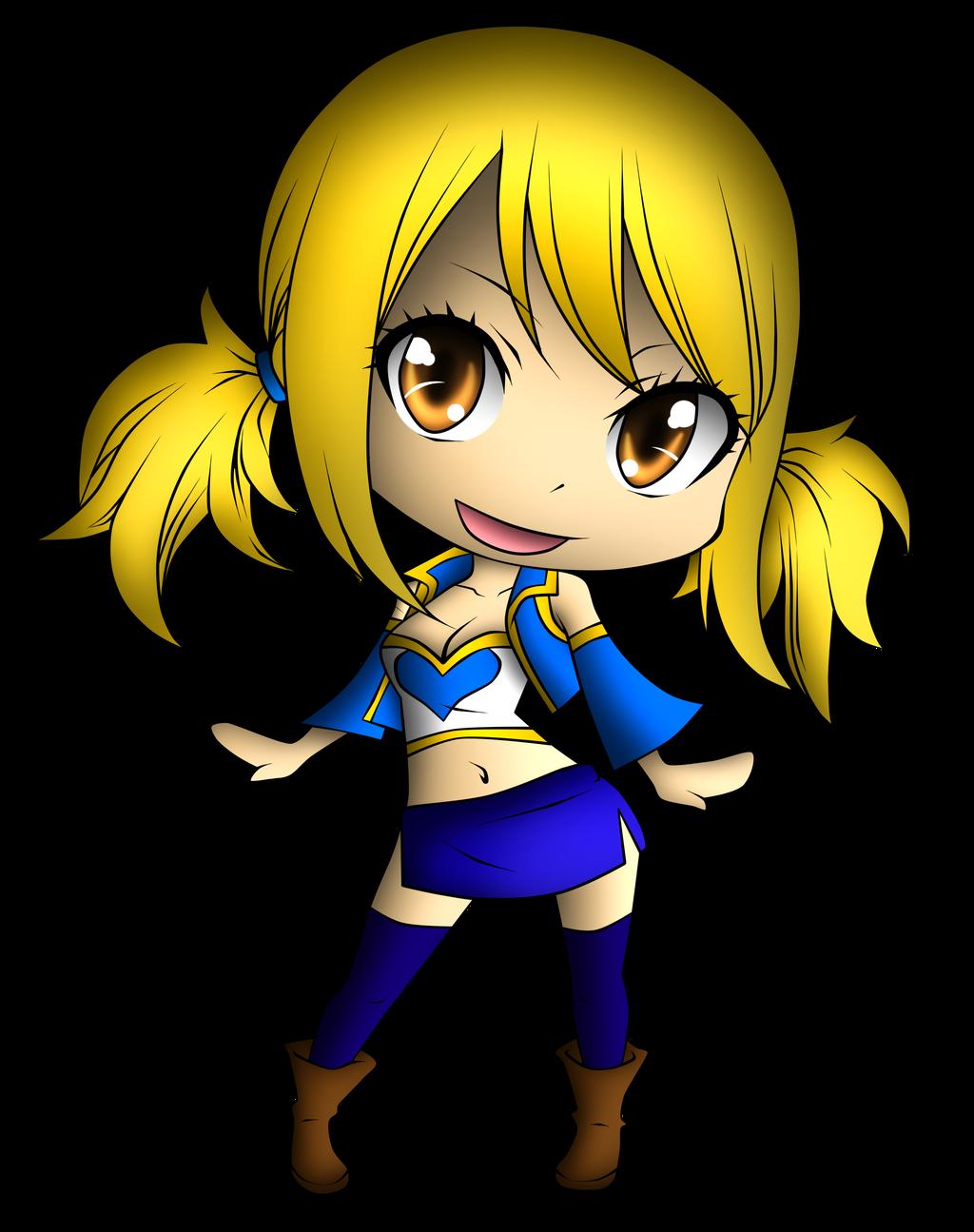 Fairy Tail - Chibi Lucy Heartfilia by Evilash-Zutara-17 on ...