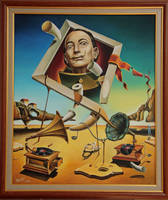 A surreal simulacrum of S.Dali by shtirliz