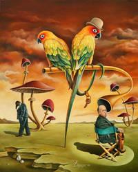 PSYCHO (Birds in a private asylum) by shtirliz