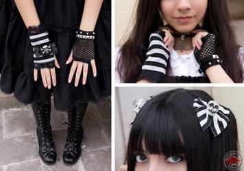 Punk lolita: Accesories by MaySakaali
