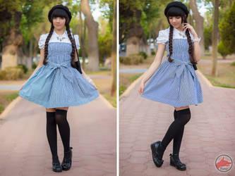 Vestido Azul by MaySakaali