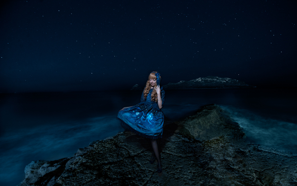 Auralia / Lost in Sea Blue - Krad Lanrete by MaySakaali