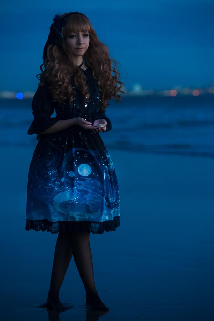Ocean Lights - Lost in Sea Blue / Krad Lanrete by MaySakaali