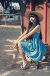 Harbor Girl by MaySakaali