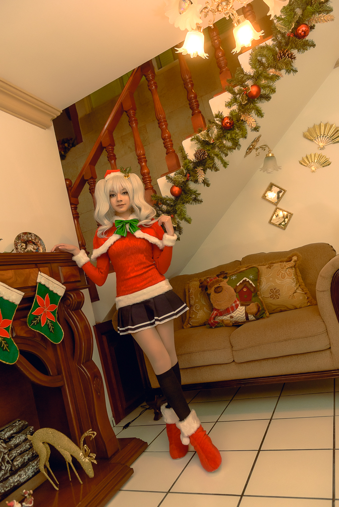 Christmas Kashima / KanColle Cosplay by MaySakaali on DeviantArt