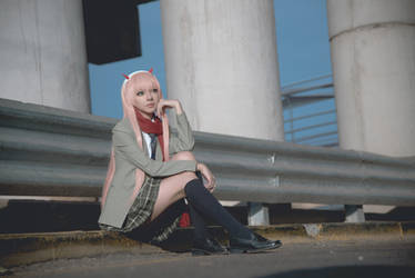 Zero Two / Darling in the Franxx Cosplay by MaySakaali