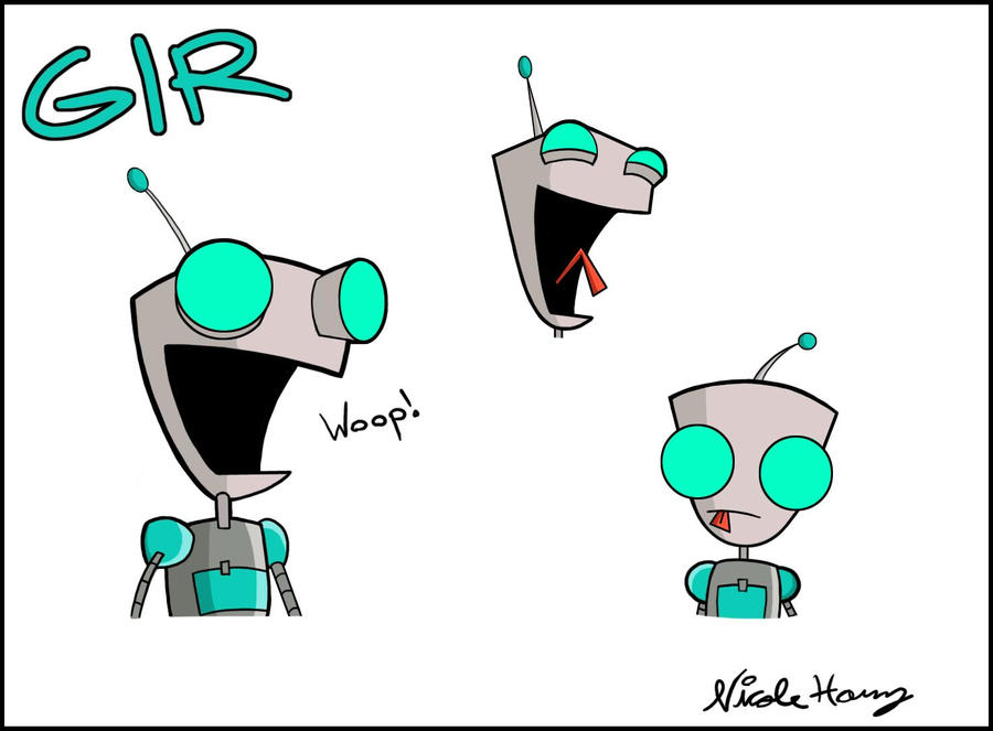 GIR: In His Amazing Robot Form by Cocoru on DeviantArt