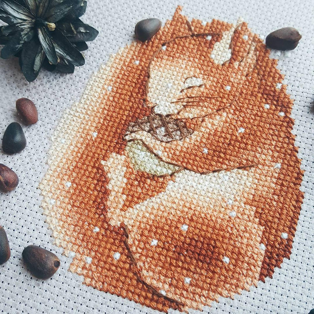 Happy squirrel by karfagenika