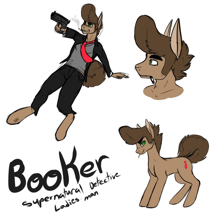 Booker - Supernatural detective by Lodidah