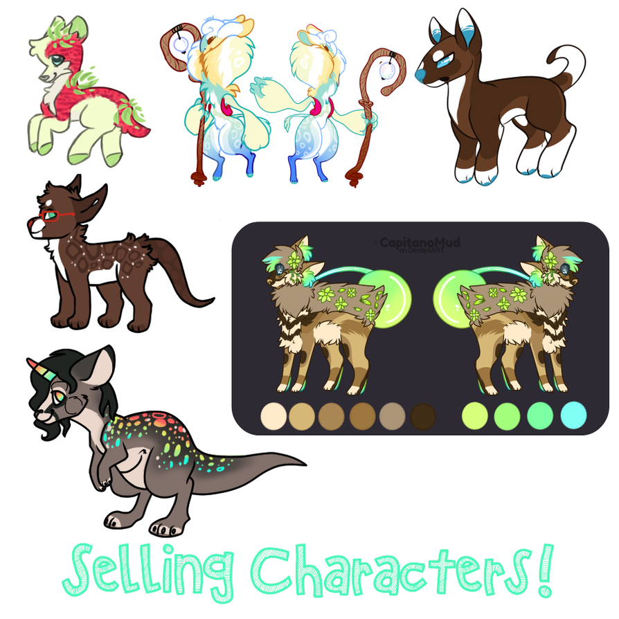 Selling/Trading characters! by Lodidah