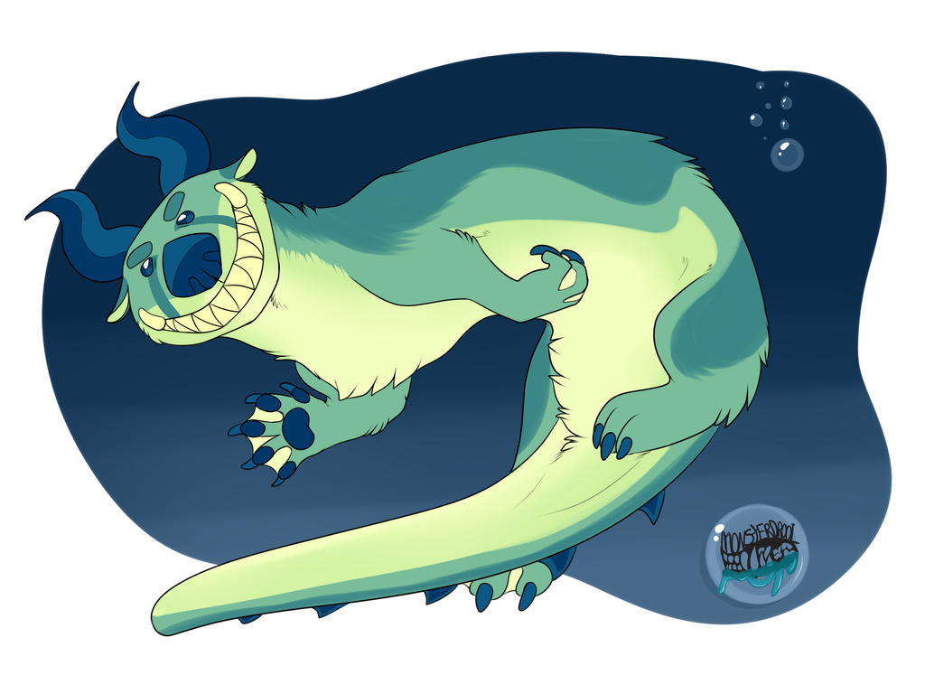 Demon Otter adopt! by Lodidah