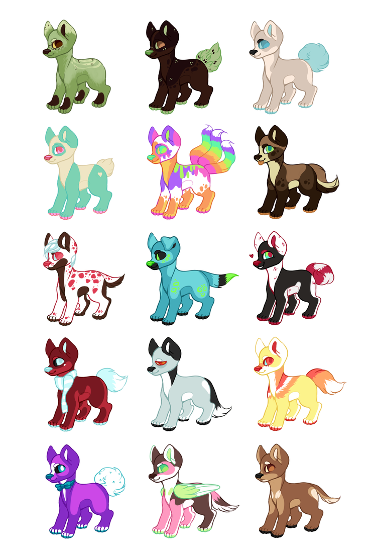 RANDO DOG ADOPTS! (11/15 OPEN!) by IMonsterDrool
