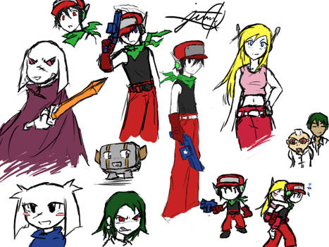 Cave Story sketches