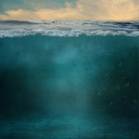 Underwater Split Background by obsessed-much