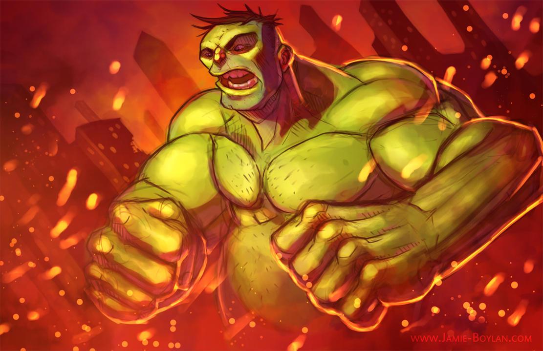 Hulk Smash by sacking-jimmy
