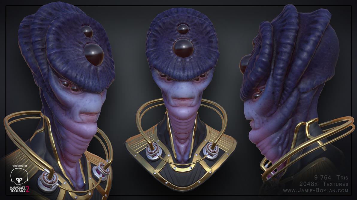 Alien by sacking-jimmy
