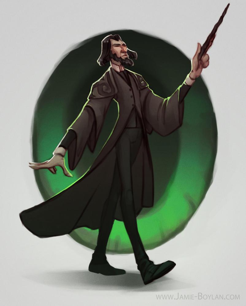 Severus Snape by sacking-jimmy
