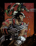 AoA  Wolverine and X23