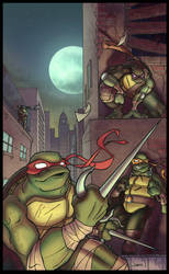 TMNT - Colours by sacking-jimmy