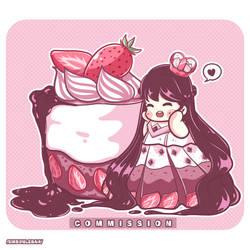 Adhelia Cake ( Commisssion )