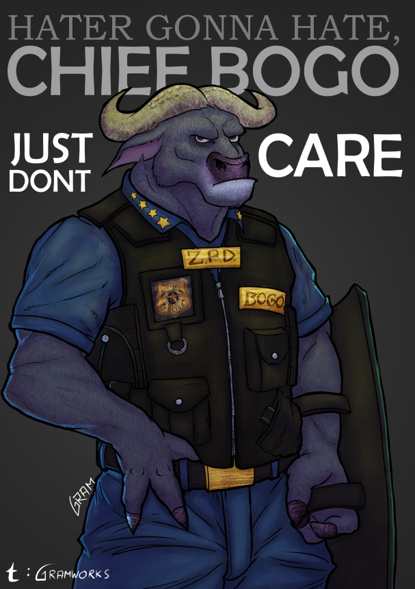 Chief Bogo - Just Dont Care by GramWorks