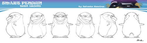 smart penguin turn around by ReevolveR