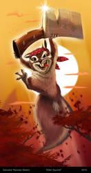 Killer Squirrel by ReevolveR