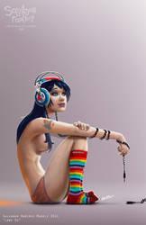 Lone DJ by ReevolveR