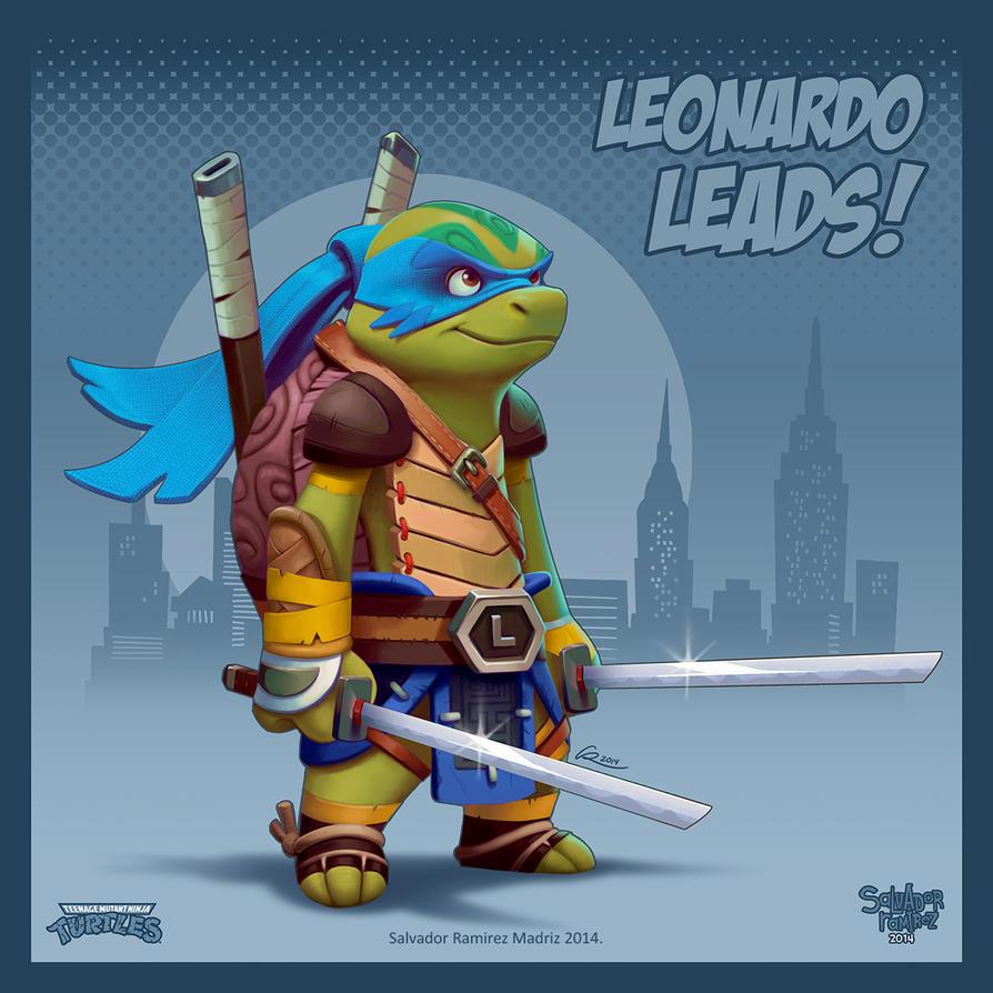 Leonardo leads by ReevolveR