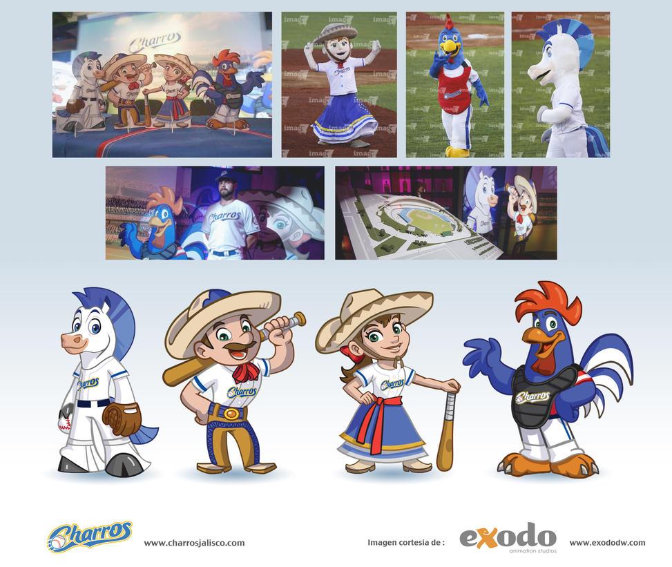 Mascotas para Charros Jalisco by ReevolveR