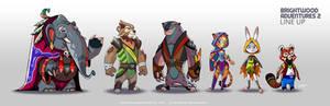 Brightwood Adventures 2 Line Up