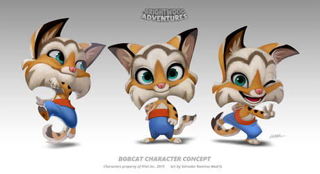 Bobcat Character by ReevolveR