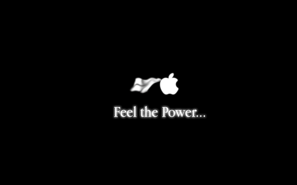 Feel the power of Apple by Dreagnout