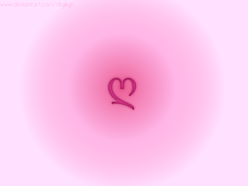 Heart Wallpaper by DigiKyT