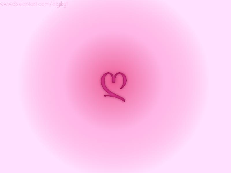 Heart Wallpaper by DigiKyT