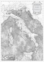 Caligo - Italia [Versione Black and White] by AlessandroFavarotto