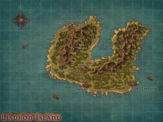 Map Inkarnate - Lisdrom Island by AlessandroFavarotto