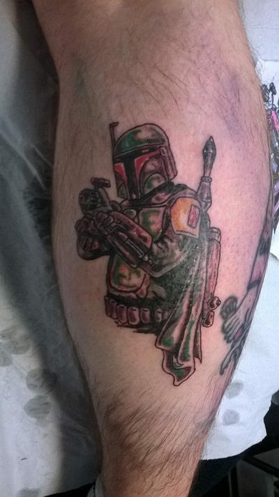 Boba fett tattoo by cloud9images on deviantart for Cloud 9 tattoo