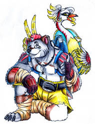 Banjo... And Kazooie?? [Crossover]